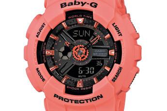Baby-G BA-111 Bedienungsanleitung / Casio 5338
