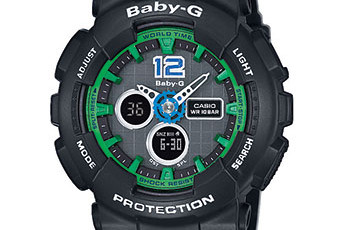 Baby-G BA-120 Uhrzeit Einstellen / Casio 5457