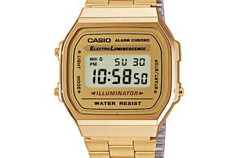 Casio A168WG Uhrzeit Einstellen / Casio 1275