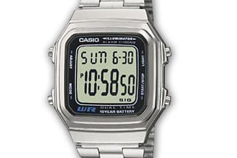 Casio A178WEA Uhrzeit Einstellen / Casio 2519