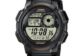 Casio AE-1000 Uhrzeit Einstellen / Casio 3198