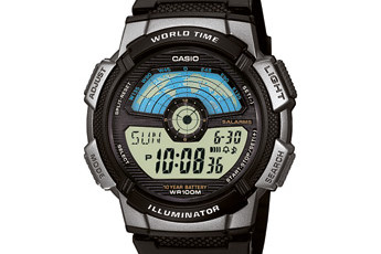 Casio AE-1100 Uhrzeit Einstellen / Casio 3264