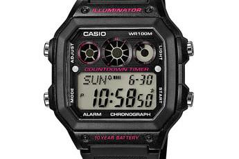 Casio AE-1300 Uhrzeit Einstellen / Casio 3426