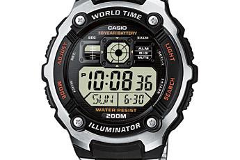 Casio AE-2000 Uhrzeit Einstellen / Casio 3199