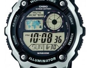 Casio AE-2100 Uhrzeit Einstellen / Casio 3198