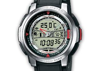 Casio AQF-100 Alarmzeit Einstellen / Casio 4335