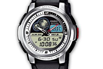Casio AQF-102 Alarmzeit Einstellen / Casio 4738
