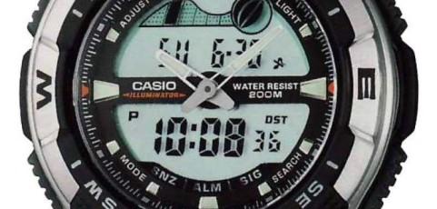 Casio AQW-100 Alarmzeit Einstellen / Casio 5028