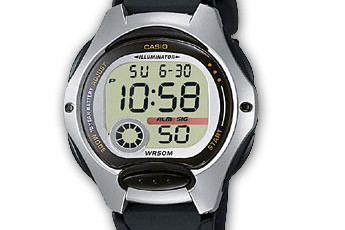 Casio LW-200 Uhrzeit Einstellen / Casio 2672