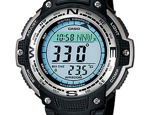 Casio SGW-100 Uhrzeit Einstellen / Casio 3157