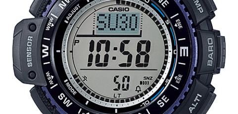 Casio SGW-1000 Uhrzeit Einstellen / Casio 3439