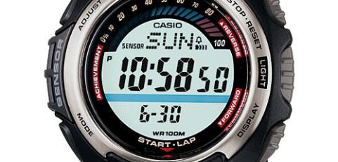 Casio SGW-200 Uhrzeit Einstellen / Casio 3166