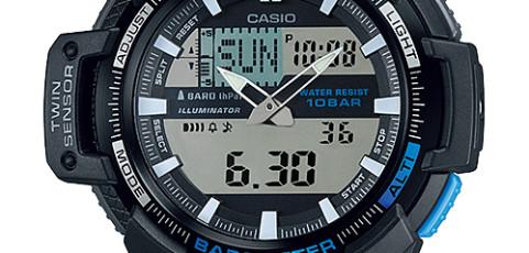 Casio SGW-450 Uhrzeit Einstellen / Casio 5450