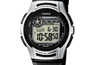 Casio W-213 Uhrzeit Einstellen / Casio 3170