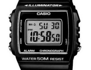 Casio W-215 Uhrzeit Einstellen / Casio 3224