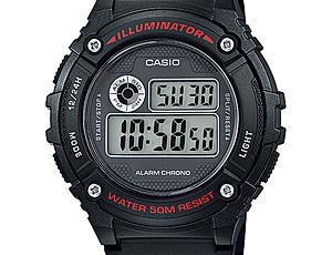 Casio W-216 Uhrzeit Einstellen / Casio 3435