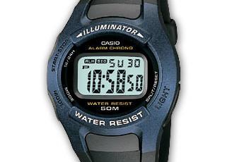 Casio W-43 Uhrzeit Einstellen / Casio 2275