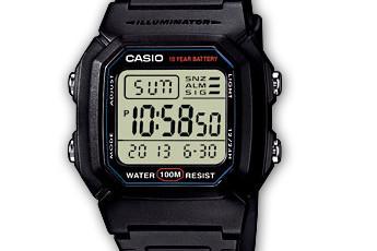 Casio W-800 Alarmzeit Einstellen / Casio 3092