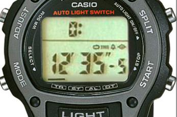 Casio W-93 Alarmzeit Einstellen / Casio 1949