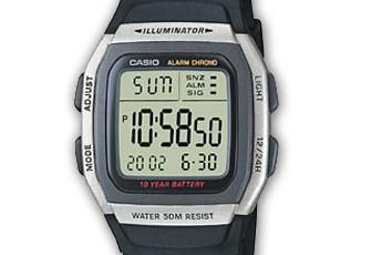 Casio W-96 Alarmzeit Einstellen / Casio 2499