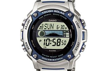 Casio W-S210 Alarmzeit Einstellen / Casio 3214