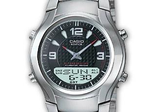Edifice EFA-112 Uhrzeit Einstellen / Casio 2747