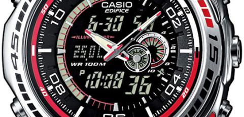 Edifice EFA-121 Uhrzeit Einstellen / Casio 4334