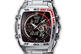 Edifice EFA-122 Uhrzeit Einstellen / Casio 4334