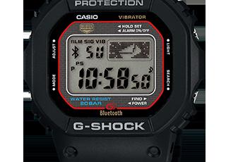 G-Shock GB-5600 Alarmzeit Einstellen / Casio 3409