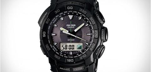 ProTrek PRG-550 Bedienungsanleitung / Casio 5213