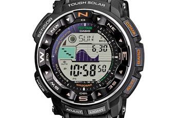 ProTrek PRW-2500 Alarmzeit Einstellen / Casio 3258