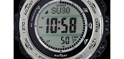 ProTrek PRW-3100 Alarmzeit Einstellen / Casio 3444