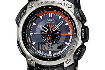 ProTrek PRW-5000 Alarmzeit Einstellen / Casio 5114