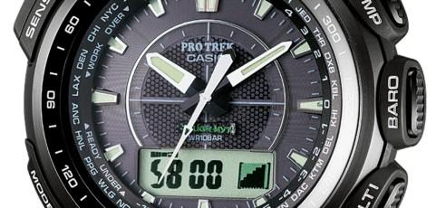 ProTrek PRW-5100 Alarmzeit Einstellen / Casio 5214
