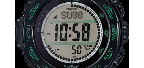 ProTrek PRW-S3100 Alarmzeit Einstellen / Casio 3444