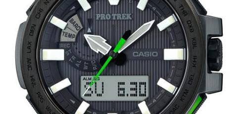 ProTrek PRX-8000 Alarmzeit Einstellen / Casio 5470