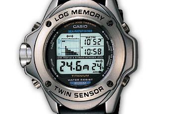 ProTrek SPF-100 Alarmzeit Einstellen / Casio 2172