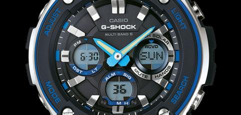 G-Shock GST-W100 Bedienungsanleitung / Casio 5444