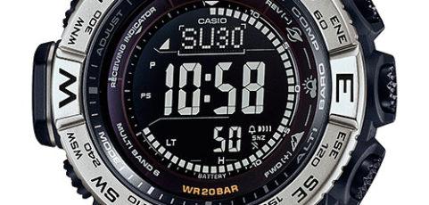 ProTrek PRW-3510 Alarmzeit Einstellen / Casio 3444