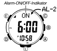 ProTrek PRW-3000 Alarmzeit Einstellen Casio 3414-1