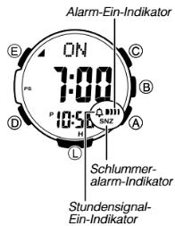 ProTrek PRW-3000 Alarmzeit Einstellen Casio 3414-3