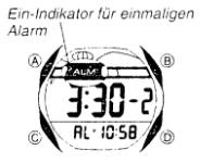 ProTrek SPS-300 Alarmzeit Einstellen Casio 2572-4