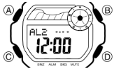 Baby-G BLX-103 Alarmzeit Einstellen Casio 3265-1