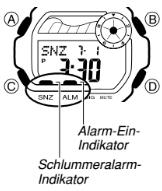 Baby-G BLX-103 Alarmzeit Einstellen Casio 3265-5