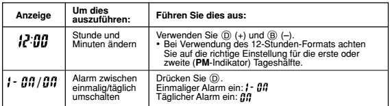 Casio AE-1000 Alarmzeit Einstellen Casio 3198-4