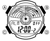 Casio AE-1100 Alarmzeit Einstellen Casio 3264-1