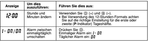 Casio AE-1100 Alarmzeit Einstellen Casio 3264-4