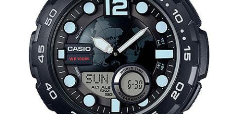 Casio AEQ-100 Uhrzeit Einstellen / Casio 5479
