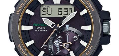 ProTrek PRW-7000 Alarmzeit Einstellen / Casio 5480
