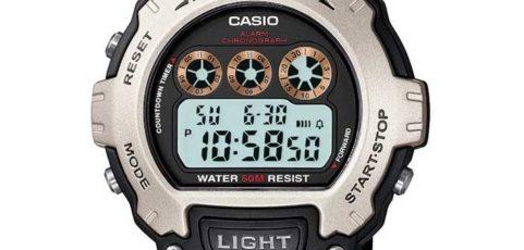Casio W-214 Uhrzeit Einstellen / Casio 3225